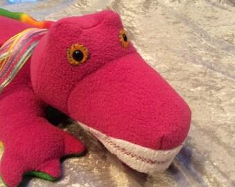 Barney look alike - Crocodile