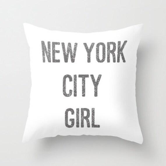 Description our new york city girl velvet pillow