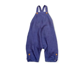 Baby Clothes Unisex Baby Clothes Linen Baby Clothes Boys Romper Girls Jumpsuit Toddler Overalls Linen Baby Romper Minimalist Baby Clothes
