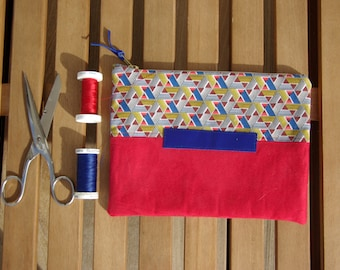 Red and blue Pocket chart!