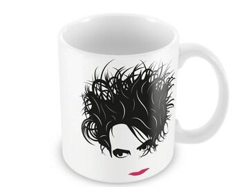 Robert Smith The Cure Mug Jem Pomak Original Design