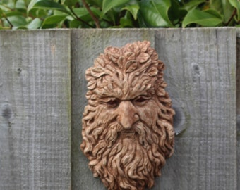 Tommy Knocker, Rustic Stone Wall Decor, Cornish Pixie Made in Cornwall, Cornwall Stoneware, Home Living, Outdoor and Gardening, Gift Idea