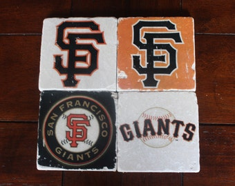 Giants Marble Coasters