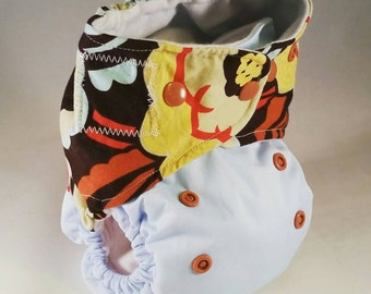 OS AIO Diaper / Cloth Diaper / Cloth Nappy / All in One / PUL / Eco friendly / Baby Gift