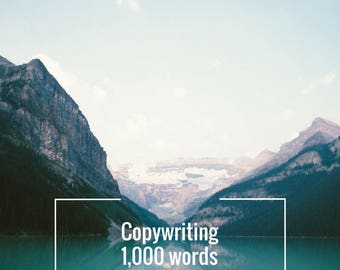 Writing Services: Copywriting