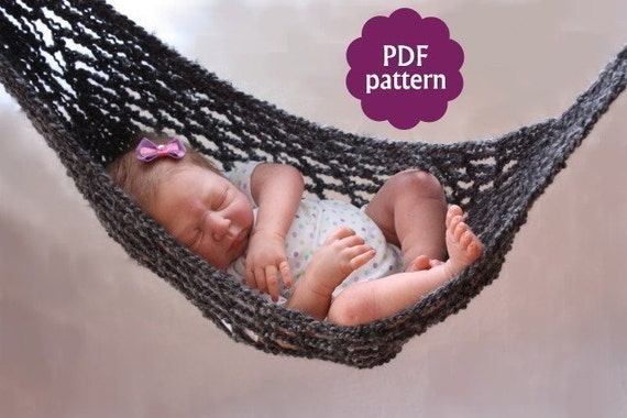 hammock baby photo prop crochet pattern pdf   instant download permission granted to sell items made from this pattern hammock baby photo prop crochet pattern pdf   instant  rh   etsy