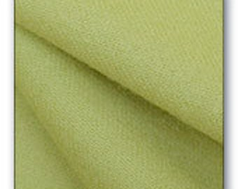 Green Felted Wool Fabric - Chartreuse - 100% Wool - Rug Hooking - Quilting - Wool Applique - Sewing - by Quilting Acres