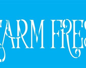 Farm Fresh Stencil