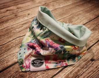"Bandana/scarf for dogs & Cats ""TROPICALVIBES"""