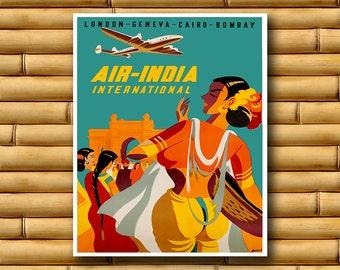 Art India Travel Poster Asian Decor Print (AJT49)