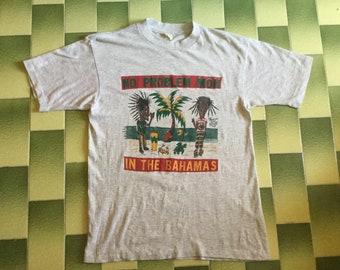 Vintage beavis and butthead reggae Rastafarian in the Bahamas t-shirt