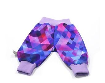 Baby Pants 'Purple Triangle'