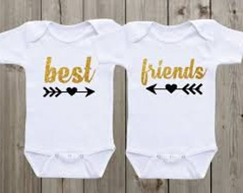 Best Friends - Twin / Toddler Outfit
