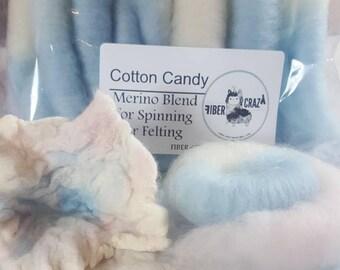 Rolags  Cotton Candy 1 oz