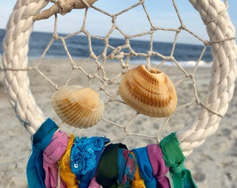 Seashell Searching Dreamcatcher