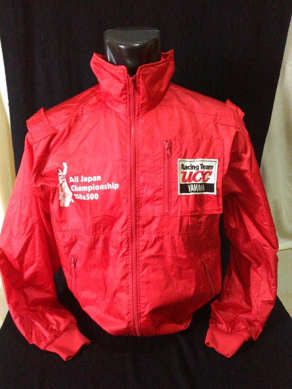 Vintage Yamaha Riding Wear Vintage Yamaha Jacket Yamaha UCC Racing Team RU4pWtN1QG