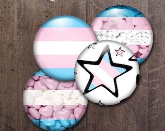 Transgender Pride Buttons
