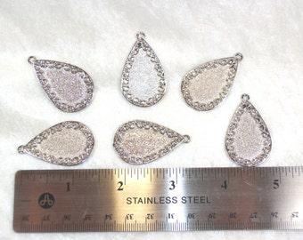 SALE  Vintage Silvertone pendants