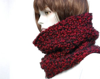 Oversized Scarves-Knit Cowl-Circle Scarf-Scarf Wool Oversized-Winter Chunky Snood-Chunky Knit Cowl-Super Chunky Scarf-Loop Scarf-Chunky Cowl