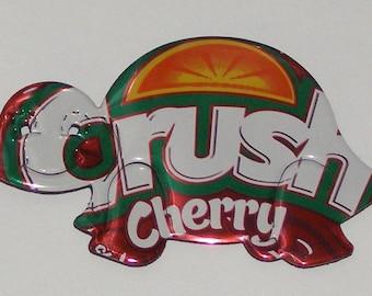 Turtle - Cherry Orange Crush Soda Can Magnet
