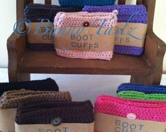 Boot Cuff Boot Cuff Handmade Boot Socks Boot Toppers Boot Covers Boot Bling Boot Accessories Boot Cuff Crochet