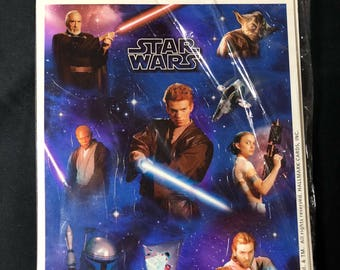 2002 Star Wars Stickers