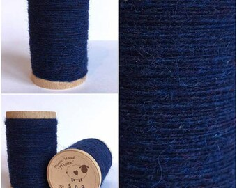 Rustic Moire Wool Thread #589 for Embroidery, Wool Applique and Punch Needle Embroidery