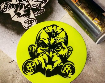 "Transplants - Custom 7"" EP Stencil Art"