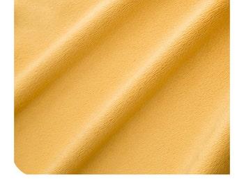 Shannon Fabrics Solid Cuddle 3 Mango Minky