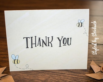 Bee Thank You - PRINTABLE