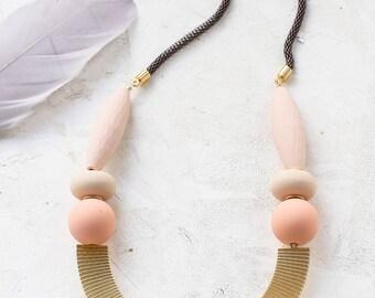 Mirela collier, collier Long Bohème, Gipsy collier, collier de déclaration, frange collier Long Boho