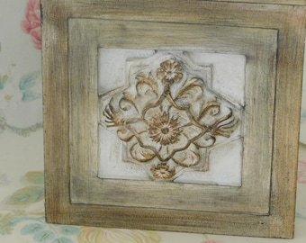 Home Decor, Decorative Accent, Stoneware, Stone Decor, Wall Decor, Distress Painted*