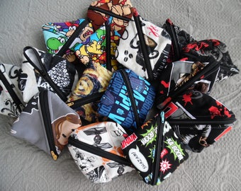 Notions Pouch  (pick your fabric)