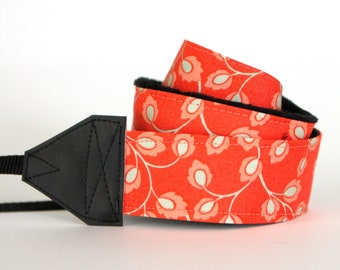 Camera Strap - Padded Camera Strap - Camera Neck Strap - Gift for Photographer Birthday - Nikon Strap - Aurora - READY to SHIP