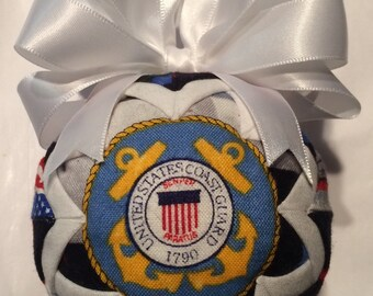 Handmade Coast Guard Ornament