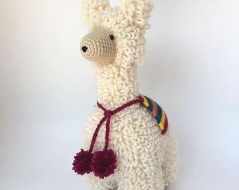 Crochet amigurumi pattern: Llama