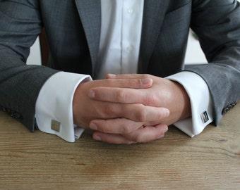 Frank Underwood (F U) cufflinks