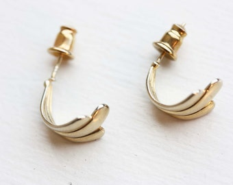 Gold Hoops, Small Gold Hoops, Small Hoops, Gold Hoop Earrings