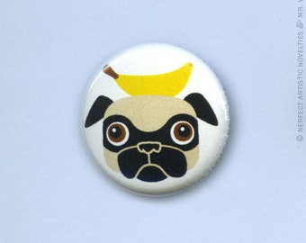 """Nice Trick (Head) 1"""" Pin-Back Button"""