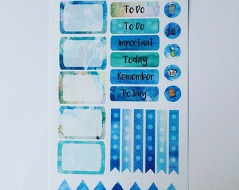 Winter Wonderland functional stickers