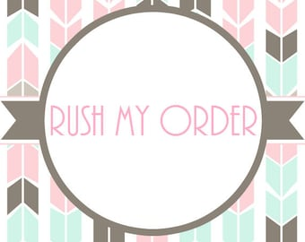 Rush My Order Option