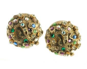 Bold Dome Earrings