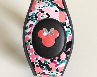 Magic Band 2.0 Wrap with Mickey or Minnie-Inspired Decal
