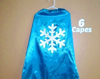 FROZEN Capes 6 Party Favor