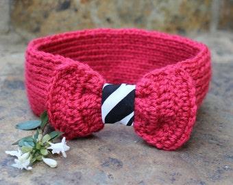 Knitted headband , Boho ear warmer , Hair accessories , Hippie hairband , African hair band , Zebra hairband , Fashion accessory.