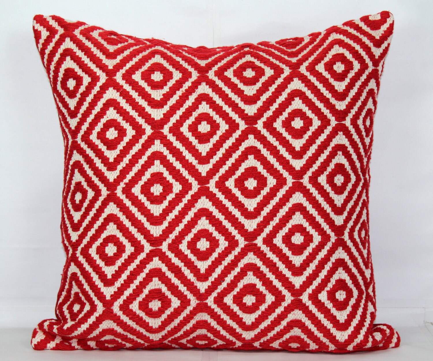 Red throw pillow covers 15x15 pillow covers 15x15 pillow