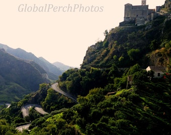 Sicily, Savoca, Corleone, Godfather Movie, Winding Road