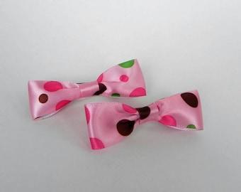 Dots Mini Bowtie Hair Bows