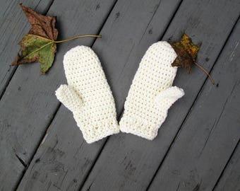 Crochet PATTERN for women's mittens