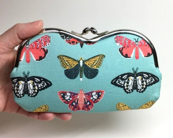Kisslock Eyewear Case - Butterflies